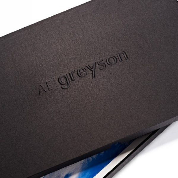 Olema Presentation Box with Metal Stamping