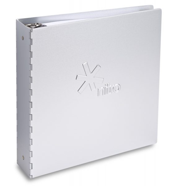 Machina 3-Ring Binder with Metal Stamping