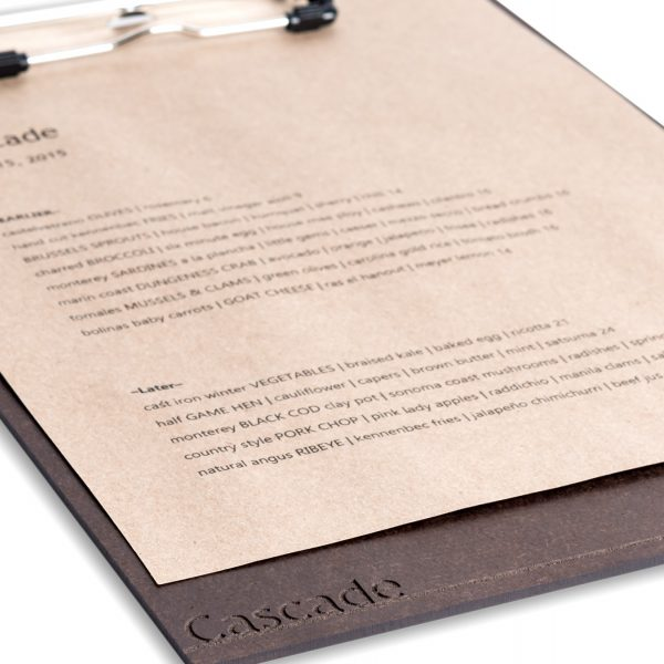 Tera Clipboard with Laser Etching