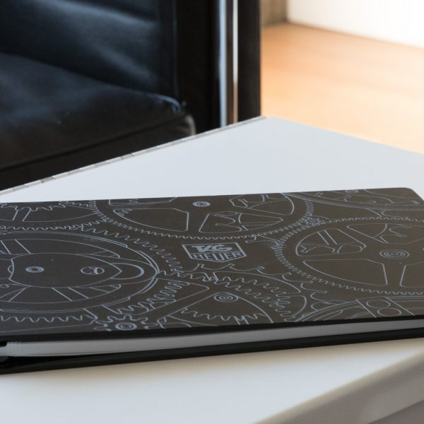 Vista Onyx Screwpost Binder with Laser Etching